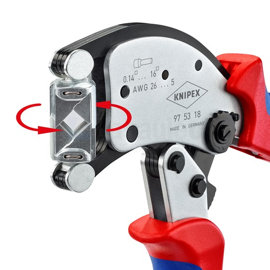 Knipex Twistor16 Adereindhulstang