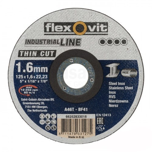 Flexovit Thin Cut A46T T41 Doorslijpschijf