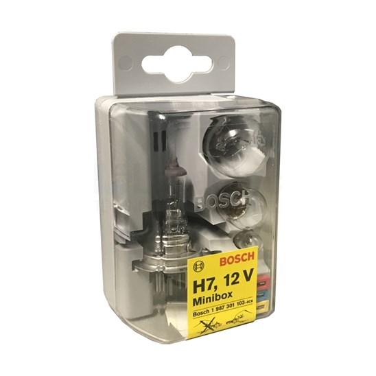 Bosch minibox 12 volt reservelampenset