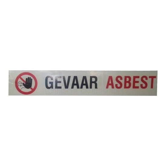 Gevaar Asbest Markeringstape