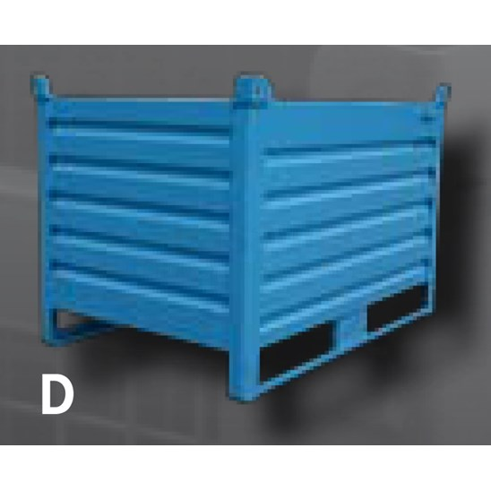 Indapp Type D Staalcontainer