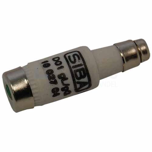 Siba D01 10A gG 400V Neozedpatroon