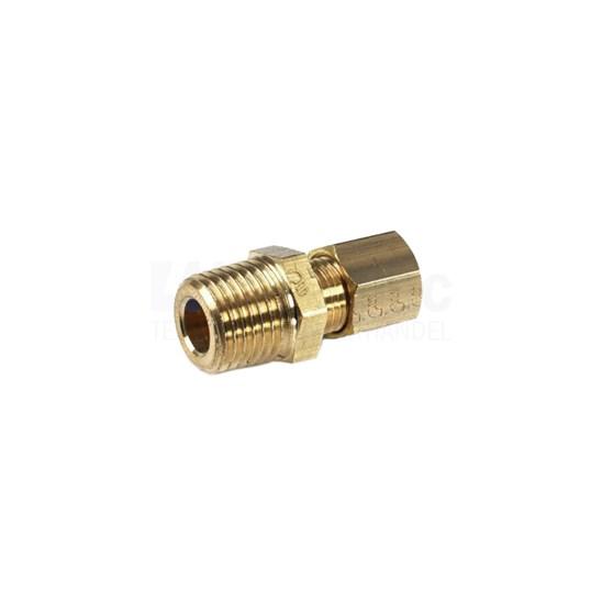 """Legris 0105-10-17 Inschroefkoppeling R3/8"""" BSP x 10 mm"""